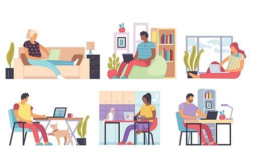 Travail à domicile : productivité et préférences