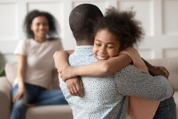 Contact with children after divorce or separation