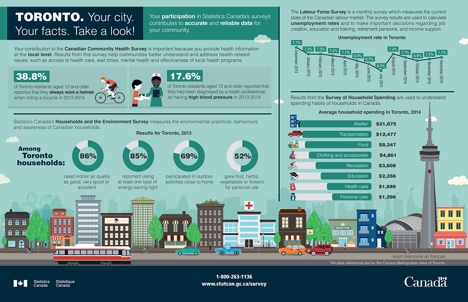 Image result for Toronto transportation infographic