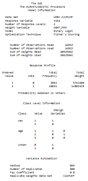 Weighted estimation and bootstrap variance estimation for