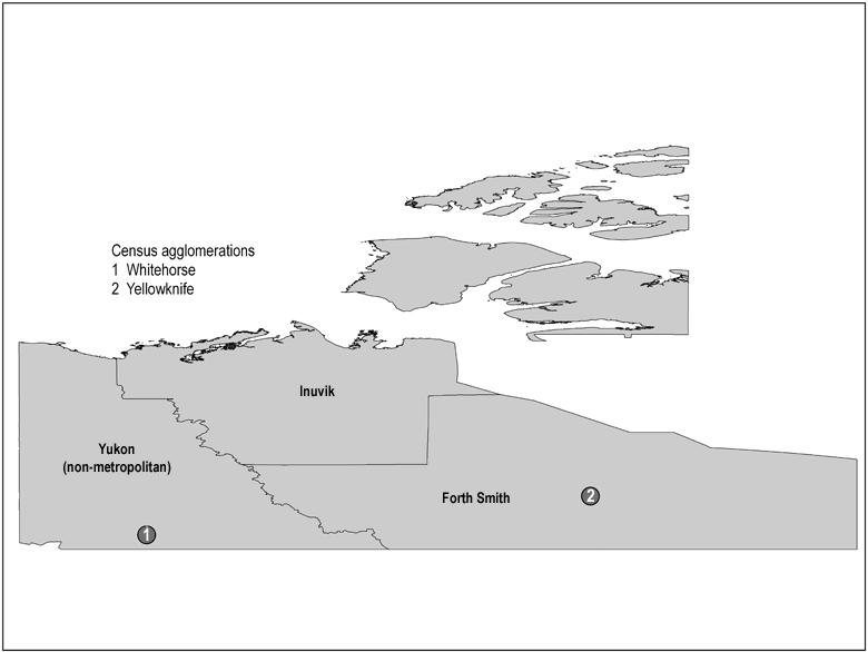 maps of northwest territories. Map 7 Yukon and the Northwest