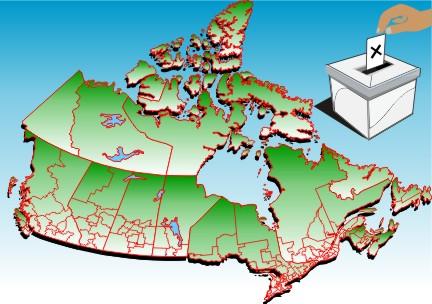 Image de circonscription électorale fédérale
